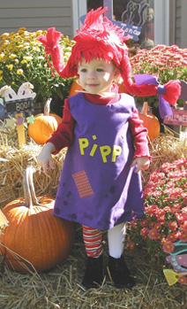 Erin as Pippy!